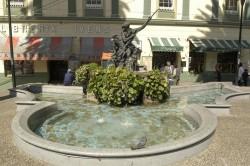 Fontaine de Neptune – Fuente de Neptuno – Plaza Anibal Pinto – Valparaíso