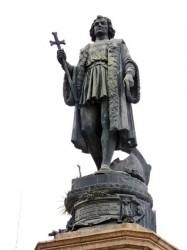 Statue de Christophe Colomb – Cristóbal Colón – Valparaíso