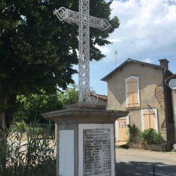 Croix – Monument aux morts – Arnac