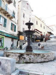 Fontaine de la Rampe Sainte-Croix ou Fontaine du Cours – Corte
