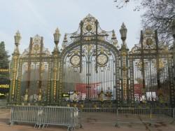 Grille – Parc de la Tête d'Or – Lyon