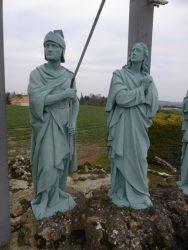 Calvaire : Mater Dolorosa et Saint Jean – Mirebeau