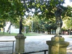 Enfants porte-torchères – Jardins do Palácio de Cristal – Porto