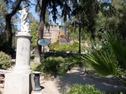 L'Amour taillant son arc – Cupido armando su Arco- Cerro Santa Lucia – Santiago de Chile