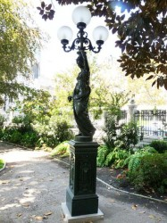 Statue Torchère [au raisin]- Ex Congreso nacional – Santiago de Chile
