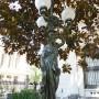 Statue Torchère [au raisin]- Ex Congreso nacional - Santiago de Chile - Image1