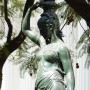 Statue Torchère - Ex Congreso nacional - Santiago de Chile - Image1