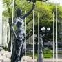 Torchères en symétrie (2) - Ex Congreso nacional - Santiago de Chile - Image14