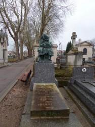 Tombe Virginie Mauvais – Cimetière de Préville – Nancy