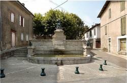 Buffet d'eau (fontaine) – La Bastide-de-Lordat