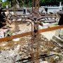 Croix et entourages de tombes - Cimetière - Bioule - Image21