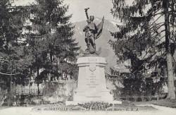 Monument aux morts de 14-18 – Albertville