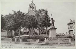 Monument aux morts de 14-18, ou La Liberté – Châteauneuf-la-Forêt
