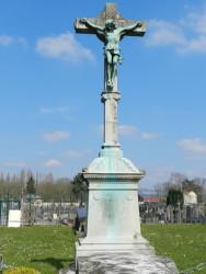 Christ en croix – Tombe famille Descamp-Agache –  Annapes (Villeneuve-d'Ascq)