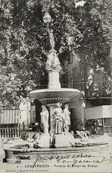 Fontaine du portail des Princes, ou Fontaine des quatres saisons – Courthezon