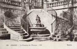 Fontaine du Thouron (Harmonie) – Grasse (volée)