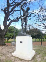El Arquero de San Sebastian – L'Archer – Plaza Chile – Buenos Aires