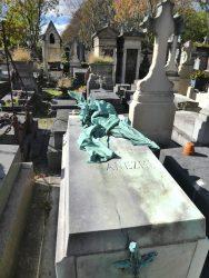 Sépulture de la famille Anezin –  Cimetière du Père Lachaise – Paris (75020)