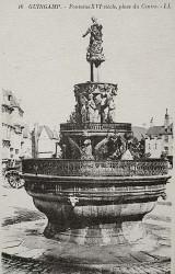 Fontaine dite La Plomée – Place du Centre – Guingamp