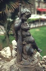 Fontaine à l'enfant, ou Enfant à la rame – Montpellier