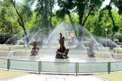 Fontaine la Naissance de Vénus ou Jugement de Pâris – Plaza Rocha – Mar del Plata
