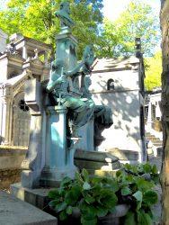 Tombe de la famille Crespin – Crespin du Gast – Cimetière du Père-Lachaise – Paris (75020)