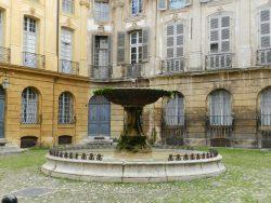 Fontaine – Place d'Albertas – Aix-en-Provence