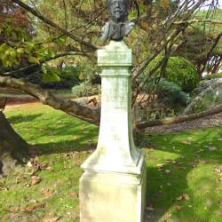 Buste d'Achille Zo – Jardin Cassin – Bayonne