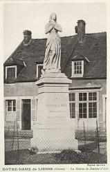 Monument à Jeanne d'Arc – Liesse Notre-Dame