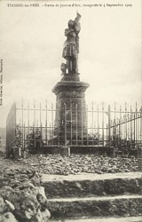 Monument à Jeanne d'Arc – Thonne-les-Prés