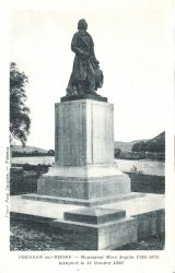 Monument à Marc Seguin (Fondu) (Remplacé) – Tournon-sur-Rhône