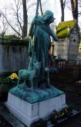 Espace funéraire Davillier – Le Bon Berger – Cimetière du Père-Lachaise – Paris   (75020)