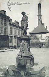 Fontaine Saint-Eloi, ou L'Eté (disparue) – Commentry