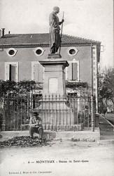 Monument à saint Gens – Monteux