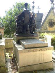 Monument à Clémentine Tanska Hoffman – Cimetière du Père Lachaise – Paris (75020)