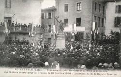 Monument aux soldats morts pour la France – Noirétable