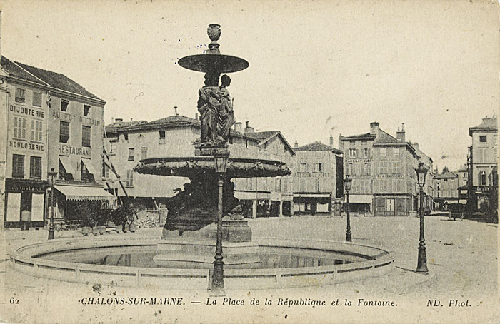 Fontaine ch lons en champagne disparue for Code postal chalons en champagne