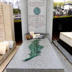 Tombe de Pierre Sémard  – Cimetière du Père Lachaise – Paris (75020)