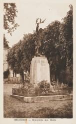 Monument aux morts de 14-18 – Chamvres