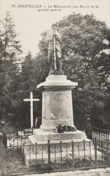 Monument aux morts de 14-18 – Chastellux