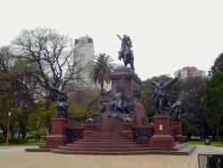 Statue équestre du général San Martin – Plaza San Martin – Buenos Aires