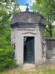 Porte de la chapelle Cheronnet – Cimetière du Père-Lachaise – Paris (75020)