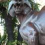 Tigre et chevreuil - Jardin Albert 1er - Nice - Image1
