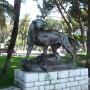Tigre et chevreuil - Jardin Albert 1er - Nice - Image2
