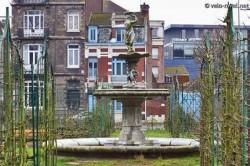 Fontaine – Jardin Vauban – Lille