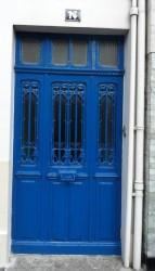 Panneau de porte  – Av. de Verdun – Saint-Dizier