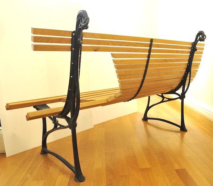 banc guimard mus e saint dizier. Black Bedroom Furniture Sets. Home Design Ideas