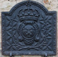 Plaque de cheminée (4/11) – Château de Montaigu – Laneuveville-devant-Nancy