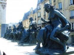 L'Afrique – Les continents – Musée d'Orsay – Paris (75007)