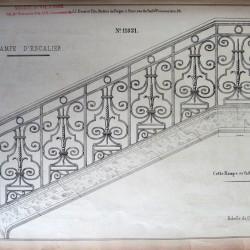 DUC_VO_PL332_F124 – Rampe d'escalier